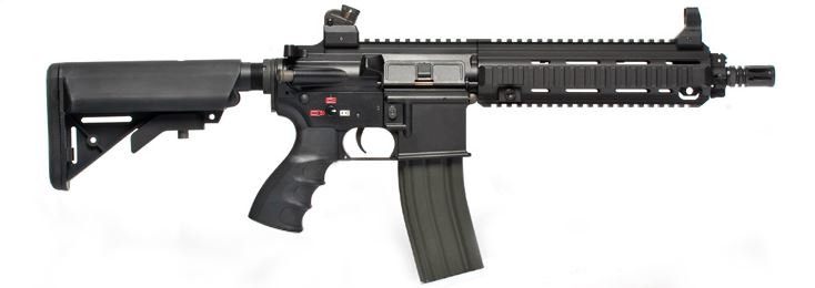 G&G Top Tech TR4-18 CQB Full Metal Blowback Carbine AEG Rifle