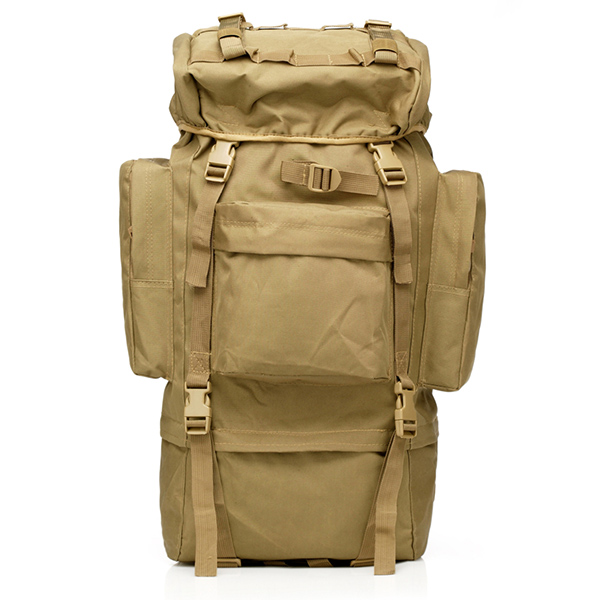 WOLF FORCE 65 L CAMOUFLAGE SOLDIER MARCH BACKPACK - TAN