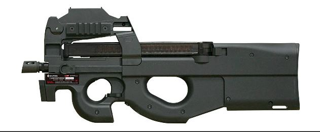 G&G PDW99 SMG AEG (FN P90) - w/ Laser & Sight