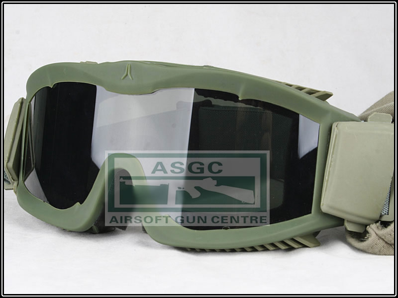New Anti-Fogging Tactical Goggle - OD