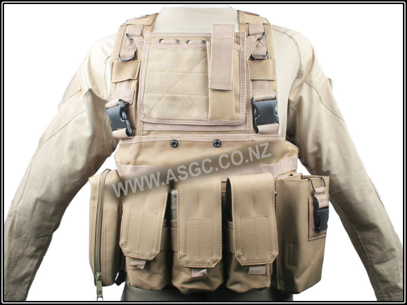 CM Detect vest-TAN-A quality RRV