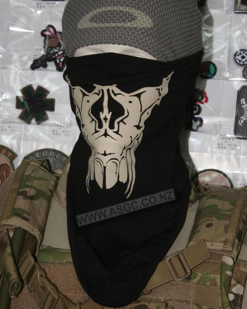 China Made Skull Neckerchief Type E
