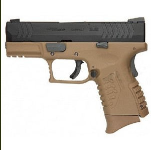 WE XDM Compact 3.8 GBB Pistol w/ Grip Cover&Backstrap (DE)