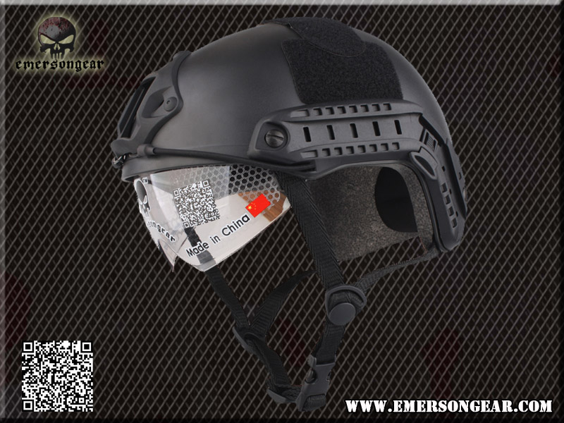 EMERSON FAST Helmet/Protective Goggle MH Type - BK