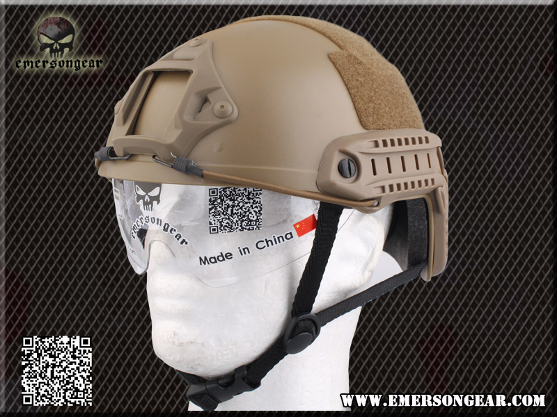 EMERSON FAST Helmet/Protective Goggle MH Type - DE