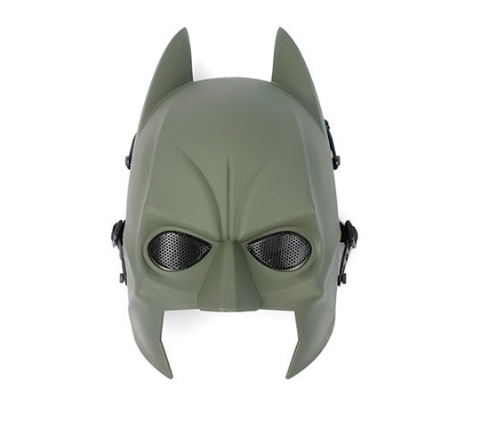 G Wii TPU Soft Wire Batman Mask ( OD )