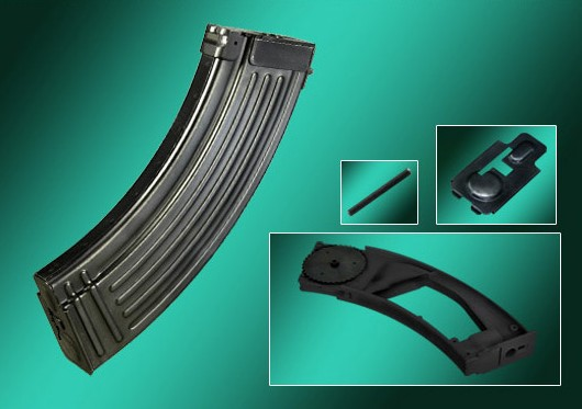 Real Sword AK / Type 56 500rd Real Steel AEG Magazine