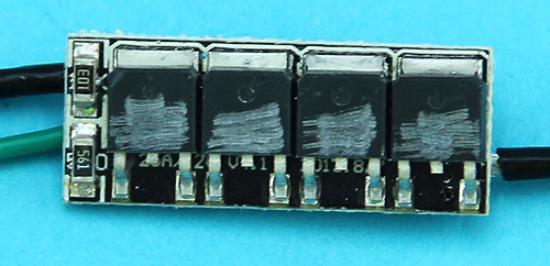 G&P MOSFET (Back) (Large T-Plug) for Ver. 2 Gearbox