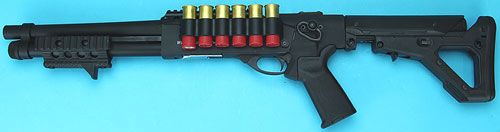 G&P Shotshell Receiver Rail Set for G&P M870 Metal Body (Short)