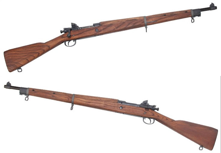 G&G GM1903 A3 Bolt Action Rifle (Real Wood, Gas Version)