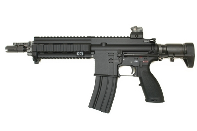 WE HK 416C Full MetalAssault Rifle GBB Open Bolt Version (Black)