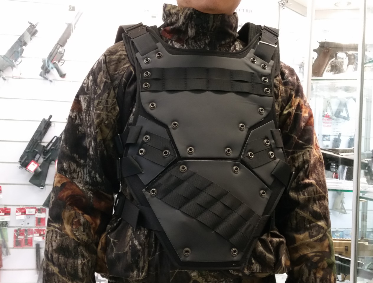 TF3 Type Tactical Foam Vest - Black