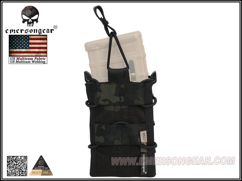 EMERSON Single Unit Magazine Pouch - Multicam Black
