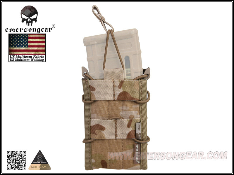 EMERSON Single Unit Magazine Pouch - Multicam Arid