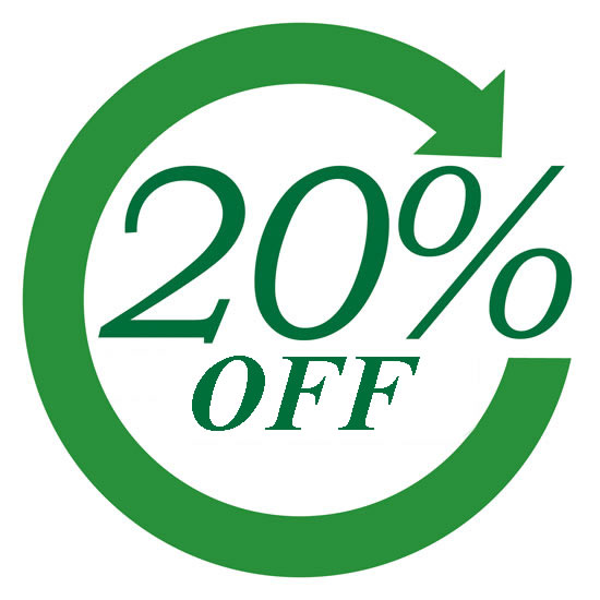 [2800 Points] 20% Discount Voucher