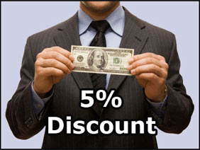 [1100 Points] 5% discount voucher