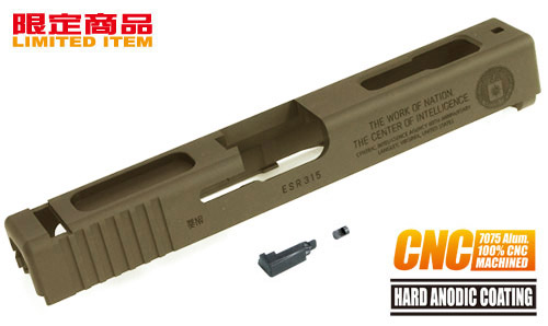 Guarder 7075 Aluminium CNC Slide for TM G18c CIA 60th (Tan)