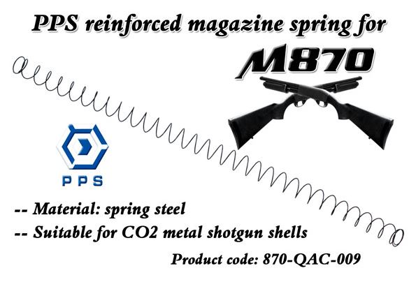 PPS Reinforced Magazine Spring for PPS M870 Shotgun