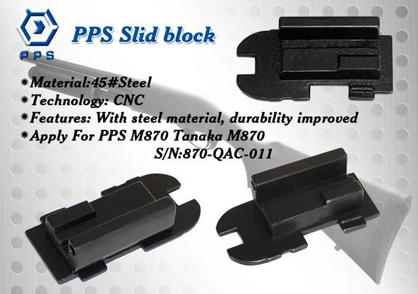 PPS Steel Slide Block for PPS M870 Shotgun