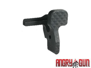 Angry Gun CNC Diamond Type Steel Bolt Release for WE M4 GBB