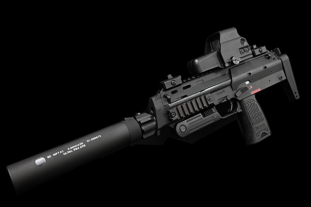 Angry Gun MP7 Power Up Silencer (WE Version)