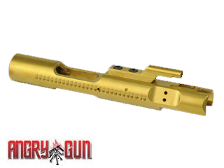 Angry Gun CNC Titanium Coat Steel Bolt Carrier for WE M4/M16 GBB
