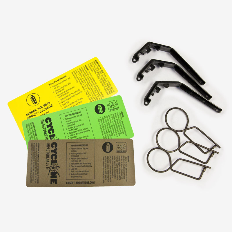 Airsoft Innovations Cyclone Resupply Kit (Pin & Spoon) - Click Image to Close