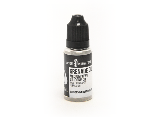 Airsoft Innovations Grenade Oil - 30wt silicone oil