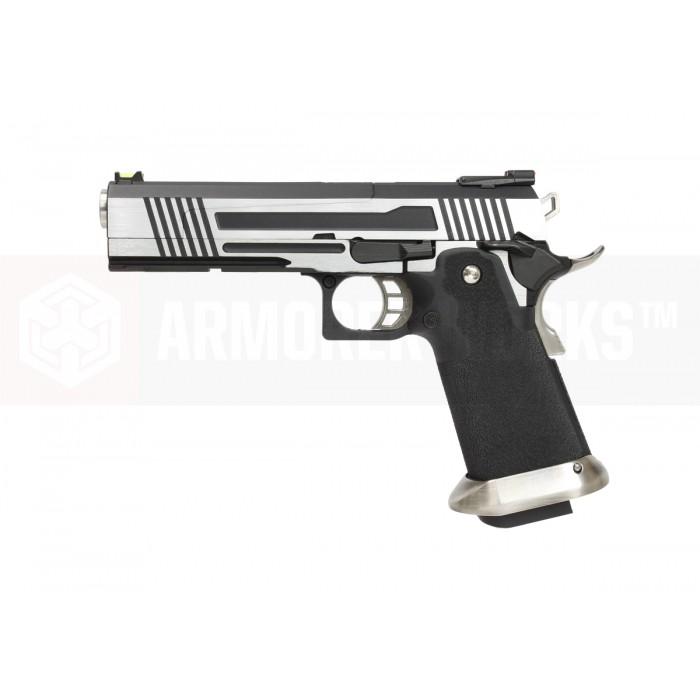 AW HX1001 Hi-Capa Metal GBB Pistol - Dual Tone [Split Slide] - Click Image to Close