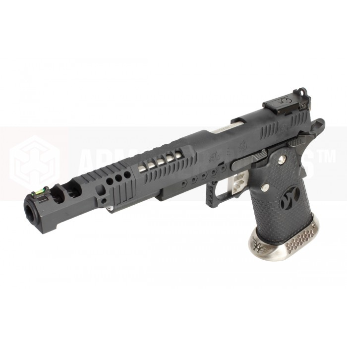 AW HX2402 Hii-Capa Metal GBB Pistol - Black [.38 Supercomp]
