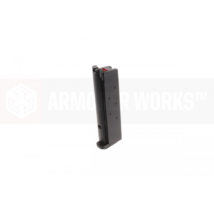 AW NE / 1911 Series 15rd Single Stack Magazine - Tactical Base