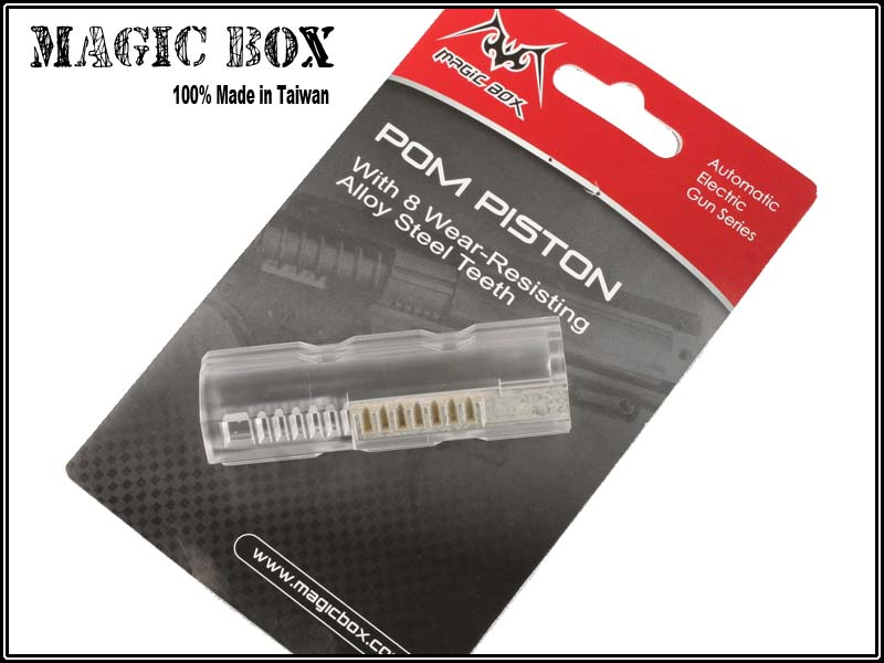 MagicBox 8 Alloy Teeth Piston