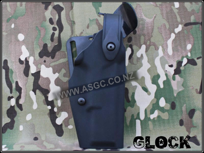 CM Safariland 6320 Holster Without Flashlight for Glock BK