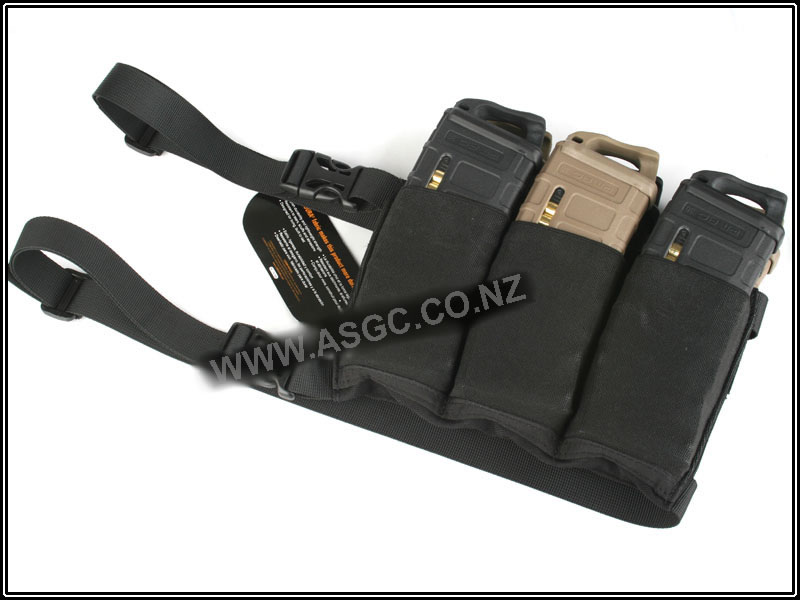CM Six Pack Mag Pouch For M4 ( Black )
