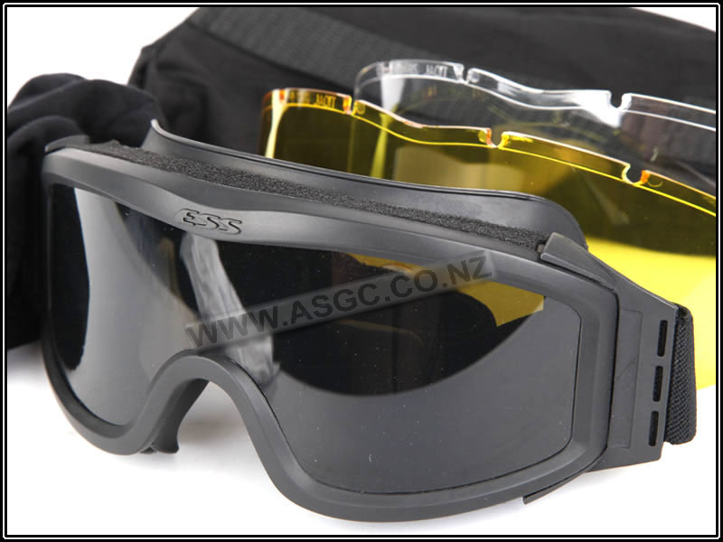 CM ESS Style Eye Protection Goggles - Black