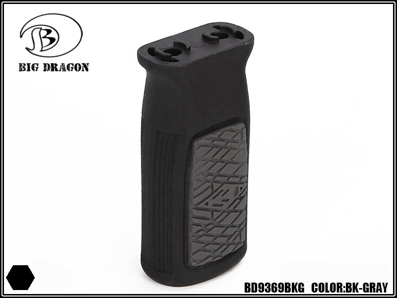 BD Compact M-Lok Vertical Fore grip - Black & Grey