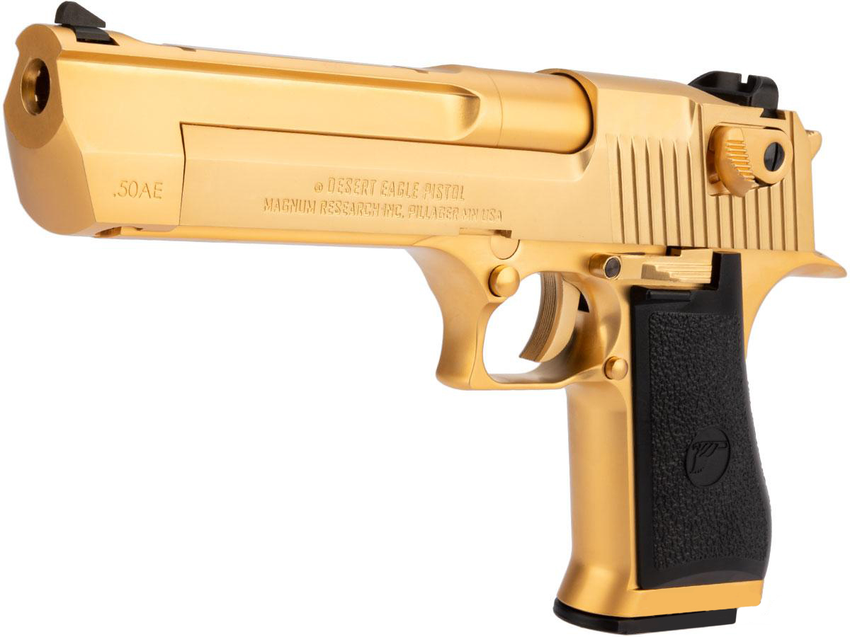 Cybergun Desert Eagle 50AE Full Metal GBB Pistol - GOLD Edition