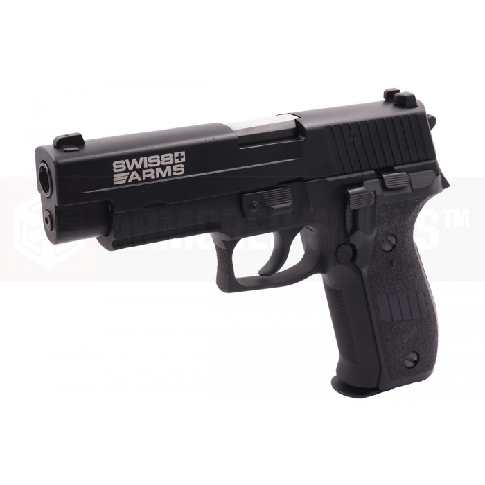 Cybergun Swiss Arms P226 Full Metal GBB Pistol with Rail