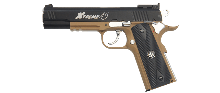 G&G Xtreme 45 CO2 Gas Blowback Pistol - DST