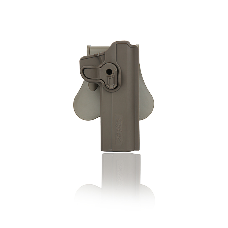 Cytac Standard 1911 Tactical Paddle Holster - FDE