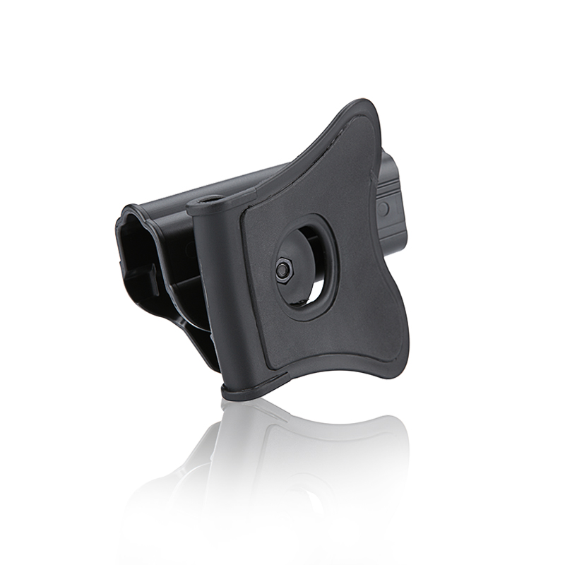 Cytac Glock (Airsoft) Tactical Paddle Holster - Left Hand, Black