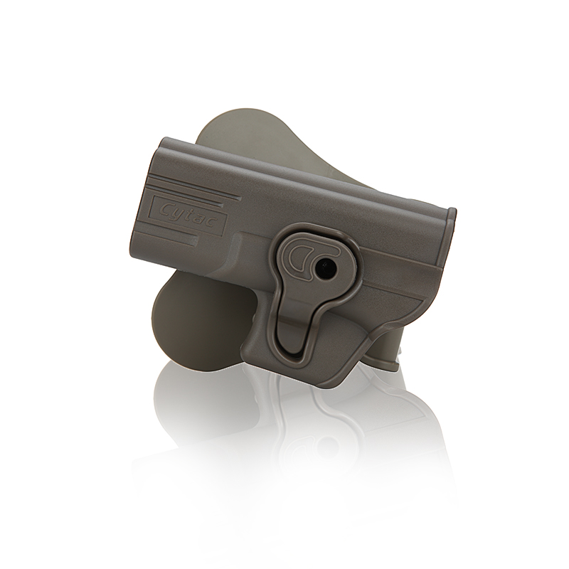 Cytac Glock (Airsoft) Tactical Paddle Holster - Left Hand, FDE