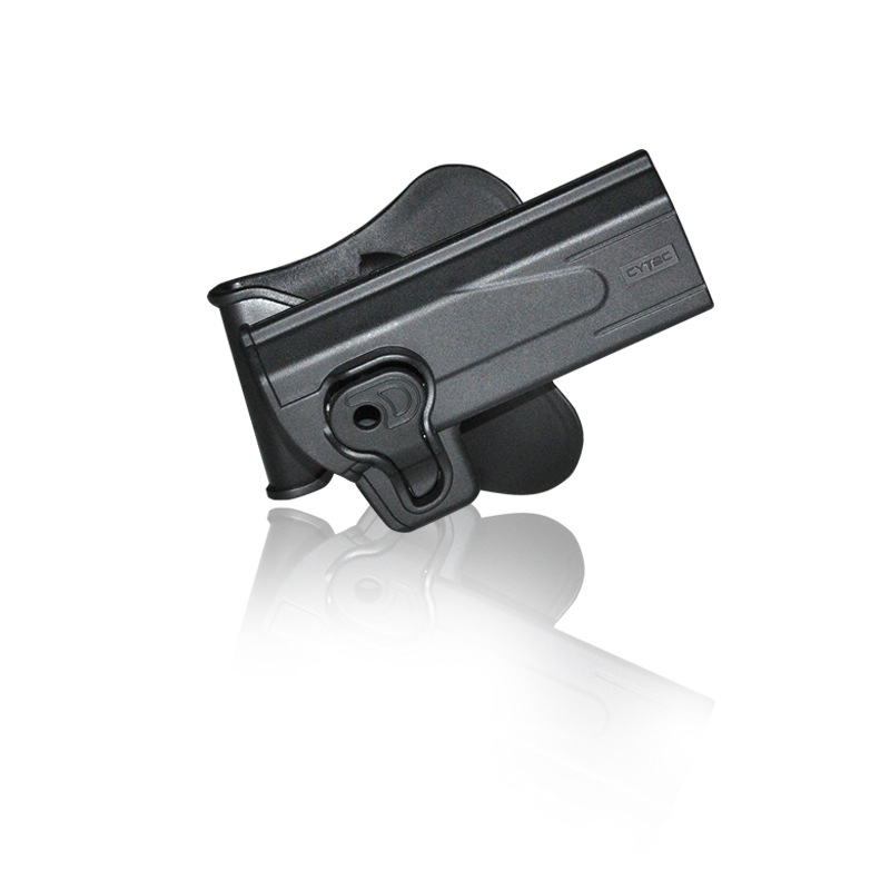Cytac Hi-Capa / STI-2011 Tactical Paddle Holster - Black
