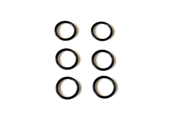 SHS Airsoft Soft Rubber Piston Head O-Ring - Set of 6