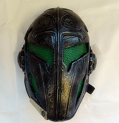 "[2nd hand] ""Templar""Mask (GREEN) - Brand New"