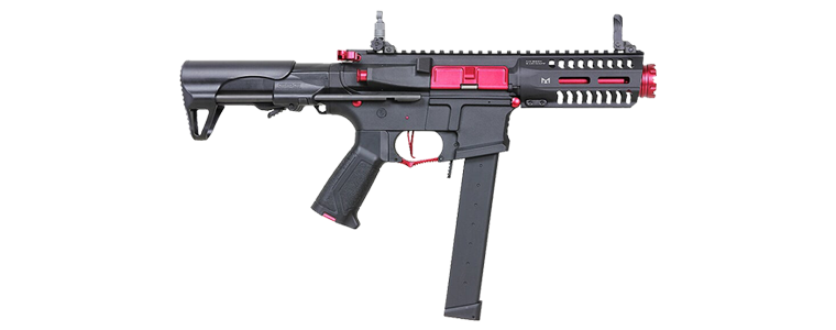 G&G CM16 ARP 9 CQB AEG Rifle w/ ETU & Mosfet - FIRE RED