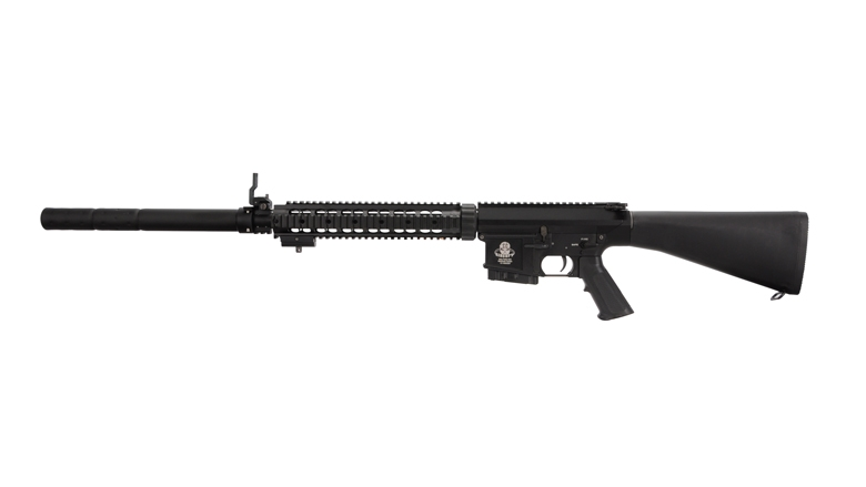G&G Top Tech GR25 AEG Sniper Rifle w/ mock Silencer