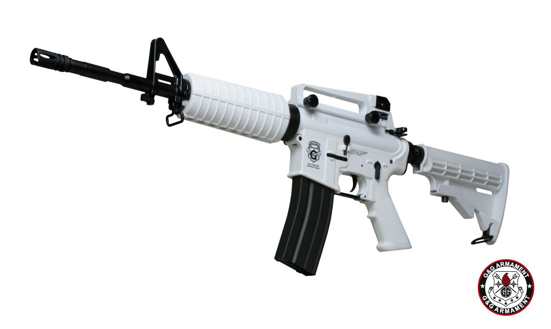 G&G GR16 Chione Blowback AEG - White Limited