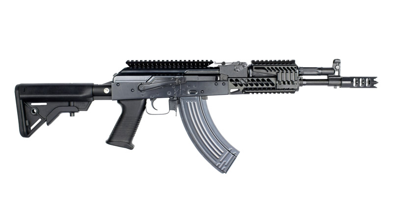 E&L AK104 PMC Mod E Full Steel AEG Rifle (Platinum Version)