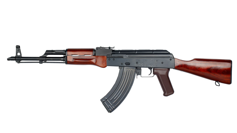 E&L AKM Full Steel & Wood AEG Rifle (Platinum Version)